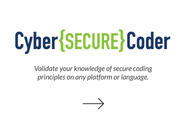 Click to visit Cyber Secure Coder page