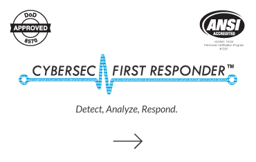 Click to visit Cybersec First Responder page