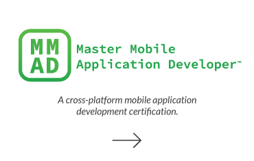 Click to visit Master Mobile Application Developer page