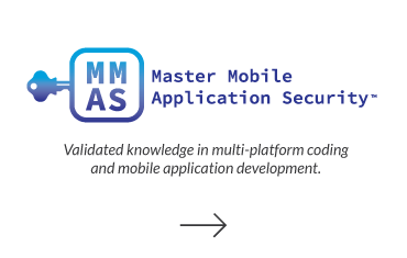 Click to visit Master Mobile Application Security page